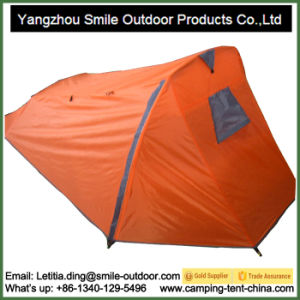 Photo Light Dome Style Canopy Triangle Person Camping Tent pictures & photos