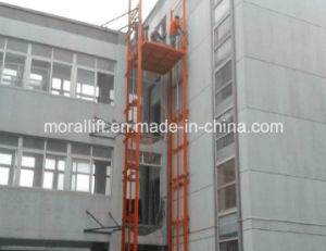 Hydraulic Vertical Material Hoist Lift pictures & photos