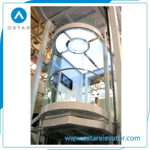 Round Panoramic Lift, Glass Observation Passenger Elevator pictures & photos