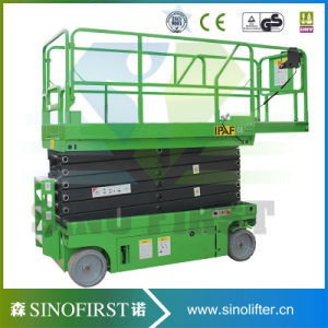 8m, 300kg Self Propelled Electric Lift Platform Scissor Lifter pictures & photos