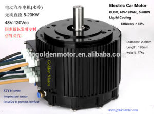 Air Cooling 48V 10kw CE High Power BLDC Motor for Electric Motorbike pictures & photos
