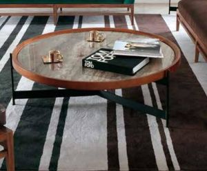 Metal Furniture Coffee Tea Table with Guine Marble pictures & photos