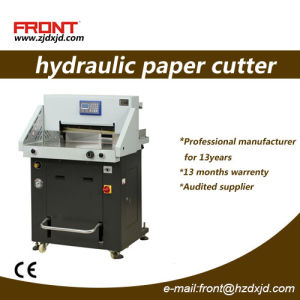 Hydraulic Program-Controlled Paper Cutting Machine (FN-H670P) pictures & photos