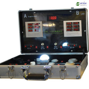 Customize LED Demo Case for Different AC&DC LED Lamps pictures & photos