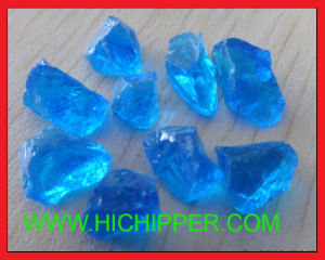 Decorative Fire Pit Colored Glass Rock for Fireplace pictures & photos