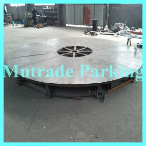 Class High End Quality Automobiles Car Turn Table Car Turner Car Turntable pictures & photos