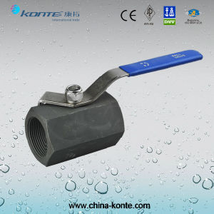 Hex Forged Steel Ball Valve A105 2000WOG pictures & photos