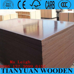 21mm Waterproof Film Faced Finger Joint Marine Plywood pictures & photos