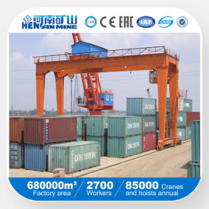 Rmg Type Rail Mounted Container Double Beam Gantry Crane pictures & photos