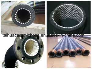 Dn40 Ceramic Lined Rubber Hose with Flange or Camlock Connection pictures & photos