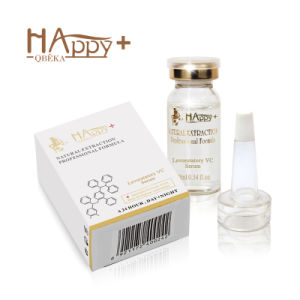 High Quality Whitening Happy+ Levorotatory Vc Skin Care Face Serum Anti-Acne Essence pictures & photos