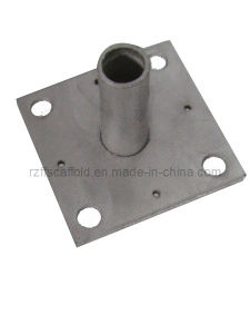 Construction Scaffolding Base Plate (150*150*5mm) pictures & photos