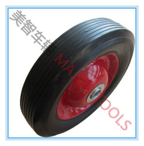 6X1.5 Solid Rubber Tyre Dolly Cart Wheel pictures & photos