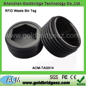 Cheap Carabiner ABS Em 125kHz or 13.56MHz RFID Waste Bin Tag for Waste Management