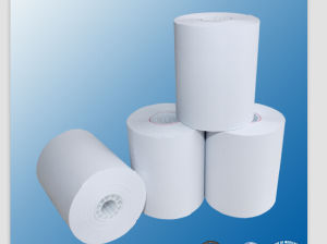 35GSM Thermal Paper for Mobile Phone, POS, Fax, ATM pictures & photos