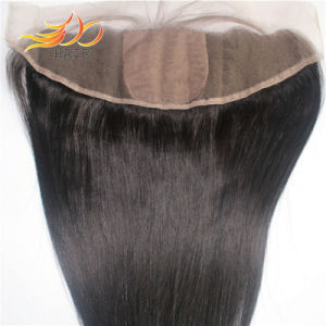 Silk Base Lace Frontal Malaysian Virgin Remy Human Hair Extension pictures & photos