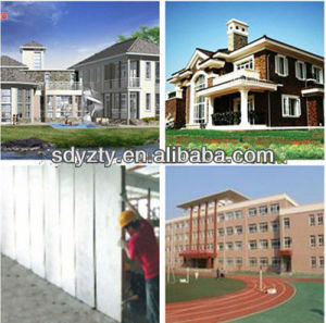 Tianyi Overall Baffle EPS Cement Machine Sandwich Panel Villa House pictures & photos