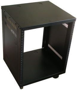 21u Free Standing Audio Rack