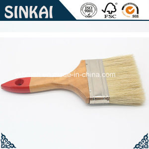 Wood Paint Brush with Stainless Ferrule and Bristle pictures & photos