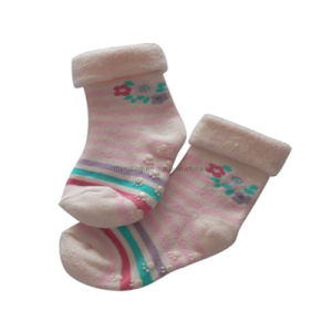 Full Terry Turn Over Baby Socks (BS-8)