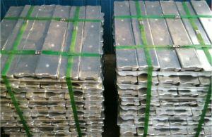 Pure Zinc Ingots for Casting/Zinc Ingots 99.995% pictures & photos