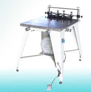 Manual Flatbed Screen Printer with Vacuum Table pictures & photos