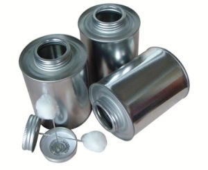 PVC Cans, PVC Glue Cans with Brush pictures & photos