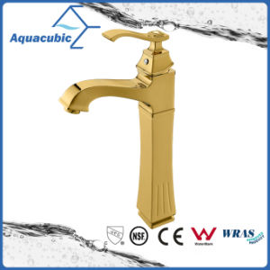 Polished Rose Gold Brass Basin High Body Mixer Water Tap pictures & photos