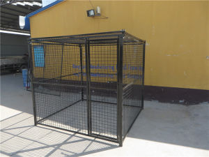 Heavy Duty Dog Cage with Black Color Powder Coating pictures & photos