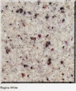 Regina White Stone Granite Floor Tile for Bathroom/Kitchen