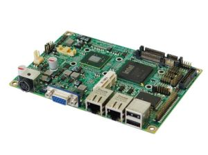 EMB-3870-3.5 Inch Embedded Motherboard Based on Intel Atom N450