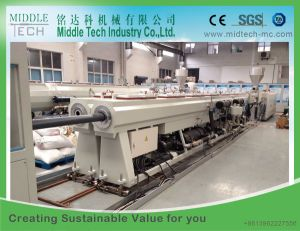 Wholesale Price Plastic PVC Electric/Electrical Conduit Pipe Making Machine (20-110) pictures & photos