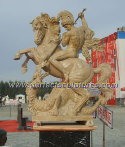Garden Carved Stone Sculpture for Outdoor Sculpture (SY-X1648) pictures & photos