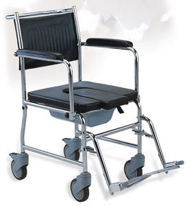 Steel Commode Wheelchair (SC-CW03(S)) pictures & photos