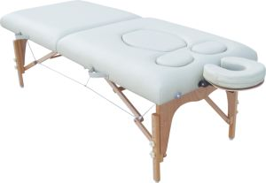 Timber Pregnant Massage Couch (PW-002) pictures & photos