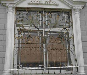 Wrought Iron Window Guard XJ042