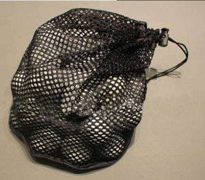 Nylon Mesh Drawstring Bag for Golf Balls pictures & photos