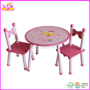 Children Kids Furniture Company- Wooden Table and Chairs (W08G076) pictures & photos