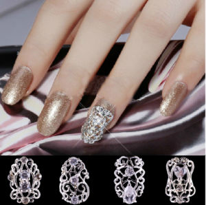 ... 3D Alloy Sticker Nail Art Metal Decoration Nail Alloy Accessories Art