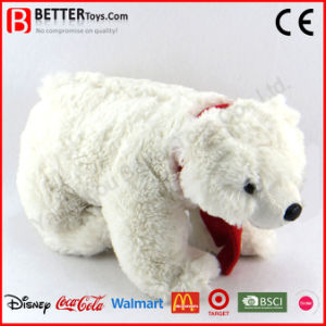 Realistic Stuffed Animal Soft Plush Toy Polar Bear pictures & photos