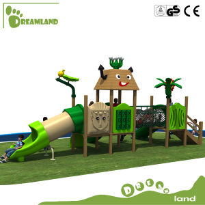 Safety Kids Games Equipment Wooden Playhouse for Kids Outdoor Playground pictures & photos