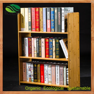 Fashion Bamboo Small Bookcase for Study Room Furniture pictures & photos
