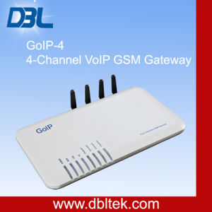 DBL 1/4/8-Channel GSM VoIP Gateway (GoIP-4) pictures & photos