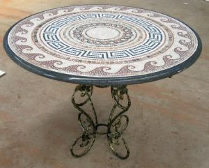 Granite Outdoor Table Garden Table