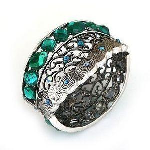 Wholesale Zinc Alloy Fashion Costume Jewelry Resin Stones Stretch Bracelet pictures & photos