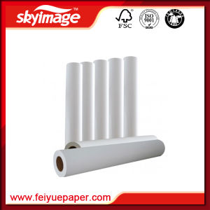 "52"" Fa 120GSM Instant Dry Sublimation Roll Transfer Paper for Polyester Fabric pictures & photos"