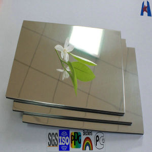 Mirror Exterior Wall Paneling Building Facade Materials (XH20120828) pictures & photos