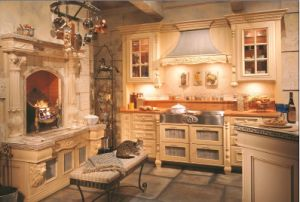 Kitchen and Fireplace (WLK-F04)