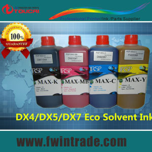 Warranty for 3 Years Eco Solvent Ink for Dx7 Mutoh Printer with Dx7 Solvent Head