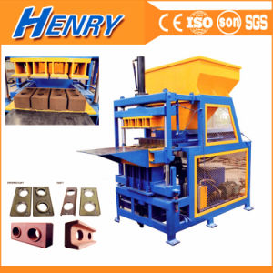 Hr4-14 Hydraulic Concrete Block Making Machine with Siemens Motor Clay Brick Making Machine pictures & photos